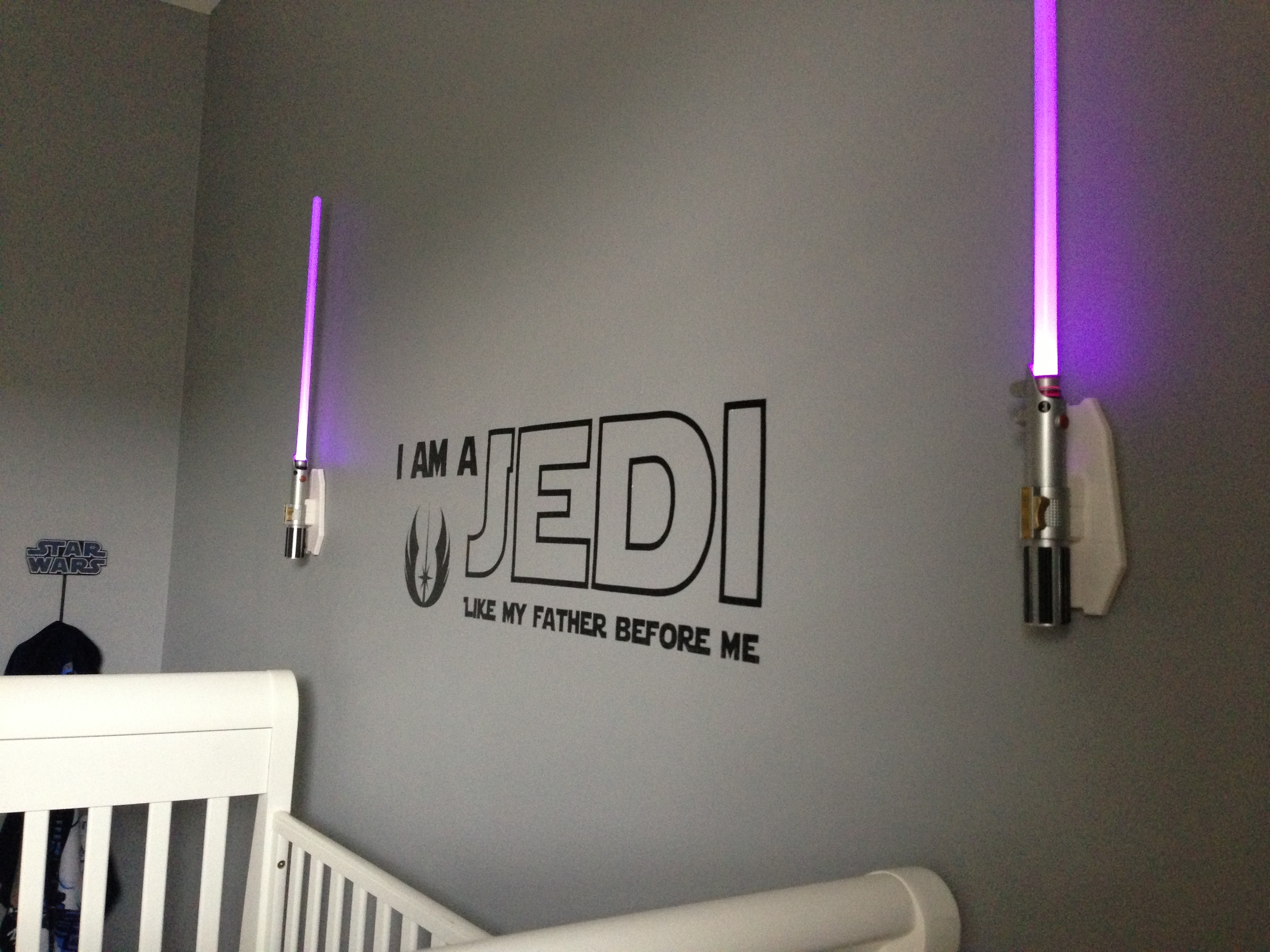 Star wars nursery babycenter for Babies decoration room